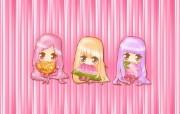 夏日粉粉可爱女孩 多分辨率 壁纸21280x720 夏日粉粉可爱女孩 ( 精选壁纸
