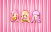 夏日粉粉可爱女孩 多分辨率 壁纸31280x800 夏日粉粉可爱女孩 ( 精选壁纸