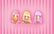 夏日粉粉可爱女孩 多分辨率 壁纸101680x1050 夏日粉粉可爱女孩 ( 精选壁纸