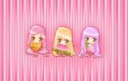 夏日粉粉可爱女孩 多分辨率 壁纸111920x1200 夏日粉粉可爱女孩 ( 精选壁纸