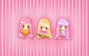 夏日粉粉可爱女孩 多分辨率 壁纸122560x1600 夏日粉粉可爱女孩 ( 精选壁纸
