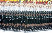 2009年国庆大阅兵女兵风姿壁纸 壁纸3 2009年国庆大阅兵 军事壁纸