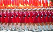 2009年国庆大阅兵女兵风姿壁纸 壁纸4 2009年国庆大阅兵 军事壁纸