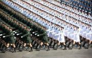 2009年国庆大阅兵女兵风姿壁纸 壁纸13 2009年国庆大阅兵 军事壁纸
