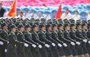 2009年国庆大阅兵女兵风姿壁纸 壁纸15 2009年国庆大阅兵 军事壁纸