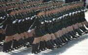 2009年国庆大阅兵女兵风姿壁纸 壁纸17 2009年国庆大阅兵 军事壁纸
