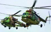 AV 8B战机 Mi 17直升机壁纸 壁纸3 AV8B战机 Mi 军事壁纸