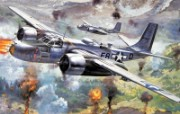 超清晰手绘战机专辑 超清晰手绘战机壁纸 军事壁纸