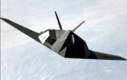 F117A隐形轰炸机壁纸 军事壁纸