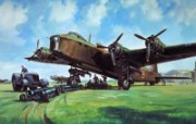 高清晰油画式飞机壁纸 高清晰油画式飞机壁纸 军事壁纸