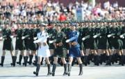 国庆60周年阅兵女兵壁纸 军事壁纸
