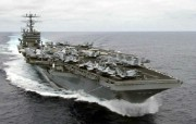 海上巨无霸 航母 壁纸2 海上巨无霸航母 军事壁纸