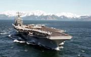 海上巨无霸 航母 壁纸5 海上巨无霸航母 军事壁纸