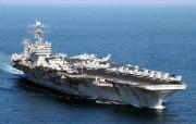 海上巨无霸 航母 壁纸8 海上巨无霸航母 军事壁纸