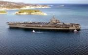 海上巨无霸 航母 壁纸10 海上巨无霸航母 军事壁纸