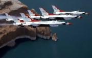 美国空军USAF的雷鸟 USAF Thunderbirds 壁纸8 美国空军USAF的雷 军事壁纸