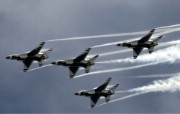 美国空军USAF的雷鸟 USAF Thunderbirds 壁纸10 美国空军USAF的雷 军事壁纸