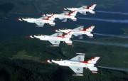 美国空军USAF的雷鸟 USAF Thunderbirds 壁纸12 美国空军USAF的雷 军事壁纸