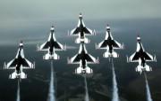 美国空军USAF的雷鸟 USAF Thunderbirds 壁纸13 美国空军USAF的雷 军事壁纸