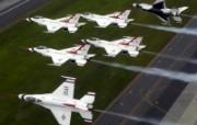 美国空军USAF的雷鸟 USAF Thunderbirds 壁纸14 美国空军USAF的雷 军事壁纸