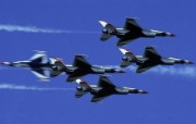美国空军USAF的雷鸟 USAF Thunderbirds 壁纸17 美国空军USAF的雷 军事壁纸