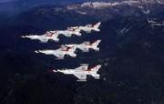 美国空军USAF的雷鸟 USAF Thunderbirds 壁纸19 美国空军USAF的雷 军事壁纸