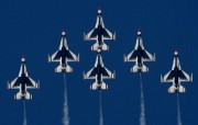 美国空军USAF的雷鸟 USAF Thunderbirds 壁纸50 美国空军USAF的雷 军事壁纸