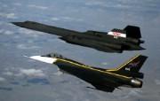 SR 71黑鸟侦察机壁纸 SR71黑鸟侦察机壁纸 军事壁纸