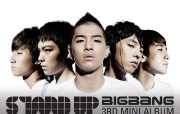 BIGBANG 韩国帅哥明星组合 壁纸1 BIGBANG (韩 明星壁纸