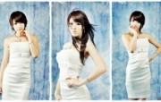 韩国顶级车展模特Hw 明星壁纸