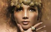 黄超燕 法国Dior特聘模特 壁纸5 黄超燕(法国Dior 明星壁纸
