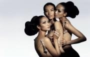 黄超燕 法国Dior特聘模特 壁纸13 黄超燕(法国Dior 明星壁纸