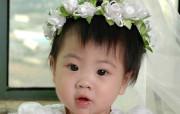 可爱婴儿宝贝壁纸 明星壁纸