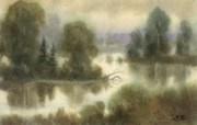 中国风 朦胧写意水彩画宽屏壁纸 壁纸9 中国风:朦胧写意水彩 明星壁纸
