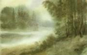 中国风 朦胧写意水彩画宽屏壁纸 壁纸16 中国风:朦胧写意水彩 明星壁纸