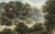 中国风 朦胧写意水彩画宽屏壁纸 壁纸29 中国风:朦胧写意水彩 明星壁纸