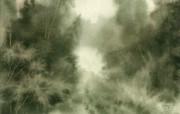 中国风 朦胧写意水彩画宽屏壁纸 壁纸31 中国风:朦胧写意水彩 明星壁纸