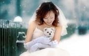 最美的时候婚纱摄影 明星壁纸