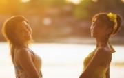 海滨女孩 2 15 海滨女孩 女性壁纸