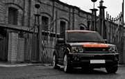 2010 路虎揽胜 Project Kahn Range Rover Sport Vesuvius Edition 壁纸2 2010路虎揽胜 汽车壁纸