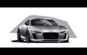 奥迪新款E Tron概念车壁纸 奥迪新款ETron概念车壁纸 汽车壁纸