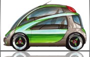 Photoshop 概念汽车设计壁纸 汽车壁纸