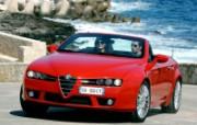 意大利浪漫敞篷Alfa Romeo Spider精美壁纸 汽车壁纸