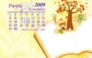 11月份月历壁纸 11月份月历壁纸 其他壁纸