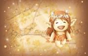 超可爱的森林小妖精壁纸 其他壁纸