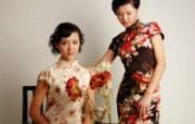 东方美!旗袍的韵律高清晰壁纸 其他壁纸