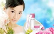 化妆品广告壁纸 化妆品广告壁纸 其他壁纸