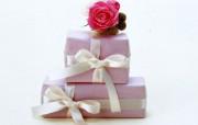 精美礼品盒写真壁纸 其他壁纸
