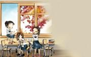 可爱无极限 9月份韩国卡通月历 可爱无极限:9月份韩国卡通月历 其他壁纸
