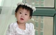 可爱婴儿宝贝桌面 其他壁纸